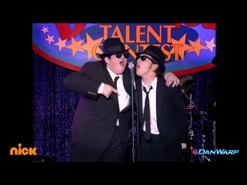 "Drake Bell and Josh Peck perform as the Blues Brothers!  ""Drake & Josh""  Dan Schneider"