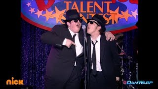 Drake Bell And Josh Peck Perform As The Blues Brothers Drake Josh Dan Schneider