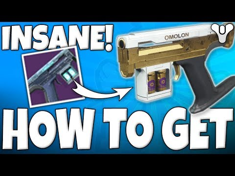 Destiny 2 - How To Get INSANE Side Arm - THE LAST HOPE !!