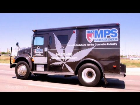 The Armored Trucks Guarding Marijuana's Cash Flow