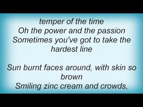 Midnight Oil - Power And The Passion Lyrics