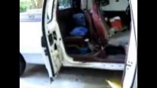 ford f series door lock cable repair best method