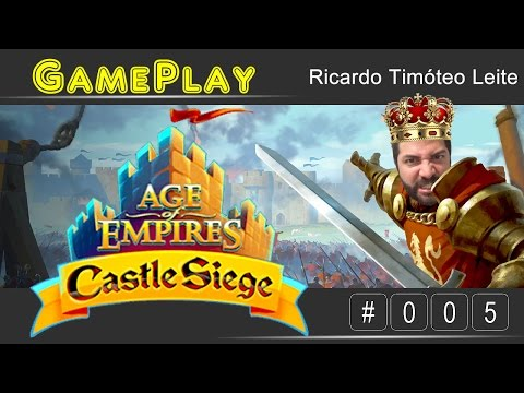 🎮 Gameplay #005 - Age Of Empires - Castle Siege - Sistema De Batalha (Windows; IPhone E IPad)