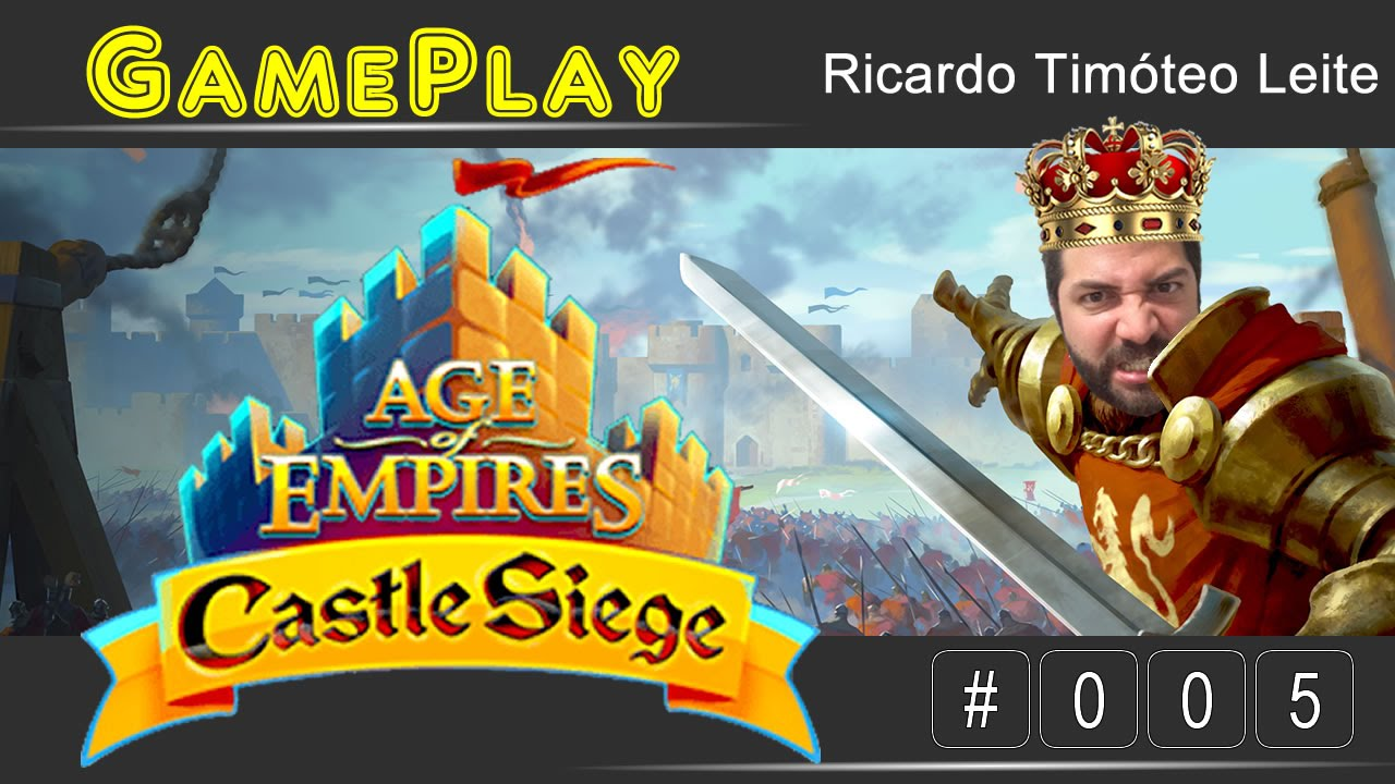 Gameplay #005 - Age of Empires - Castle Siege