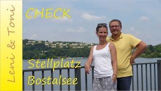 Leni & Toni CHECK: Stellplatz am Campingplatz BOSTALSEE | Saarland