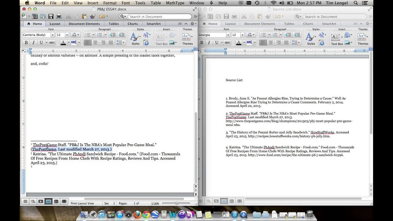 30. Formatting Footnotes and Bibliography