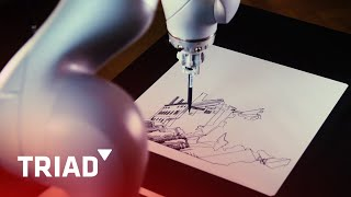 KUKA Robot Drawing