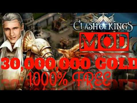 HOW TO GET 30,000,000 GOLD IN CLASH OF KINGS -(MOD HACK)