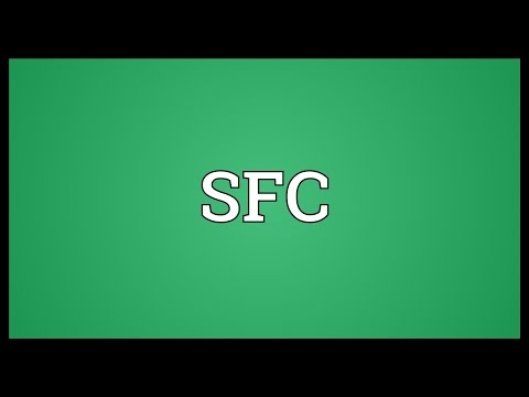 SFC Meaning