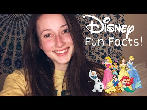 ASMR // Up-close Whispered Fun Facts about Disney!