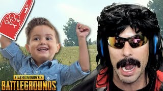 DrDisRespect plays with Doc's #1 Fan on Battlegrounds!