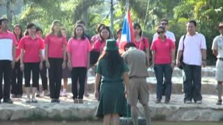 Thailand,cud48  scouts  were camping at SeauPa Camp Saraburi,Thailand on 2009(2552),Jan,8