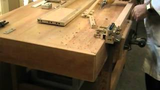 How To Build The Dowelmax Hall Table Part 2 - Joining The Front Fascia, Inner Verticals And Legs