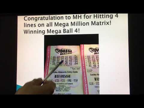 The Mega Millions Matrix has Gotten Winners!