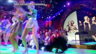 Girls Aloud Vs Sugababes - Walk This Way - Comic Relief 07