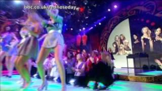 Girls Aloud Vs Sugababes - Walk This Way - Comic Relief 07