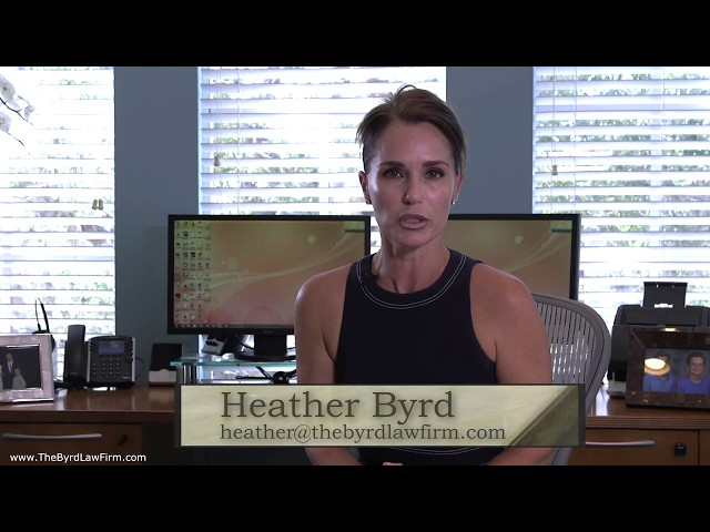 What Is Collaborative Law,  Heather Byrd,  Byrd Law Firm,  Sarasota, Florida