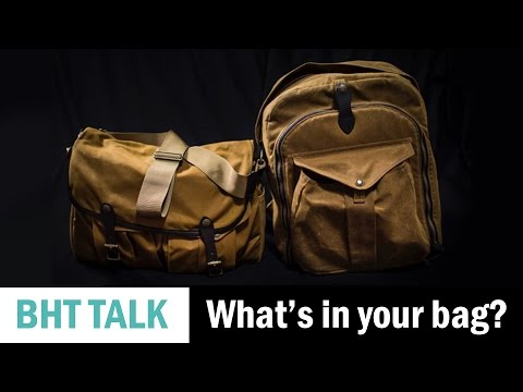 What's in Your Bag with John Lehmann