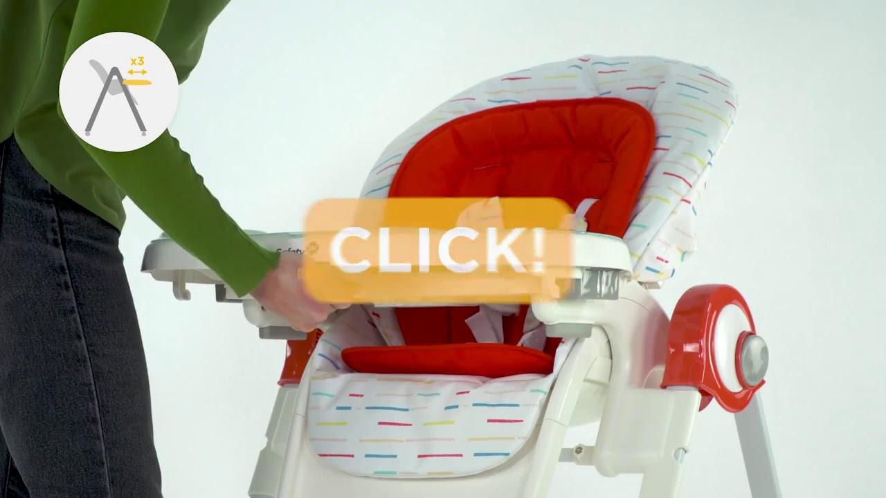 Chaise Haute Koomy Safety 1st Berceaumagique