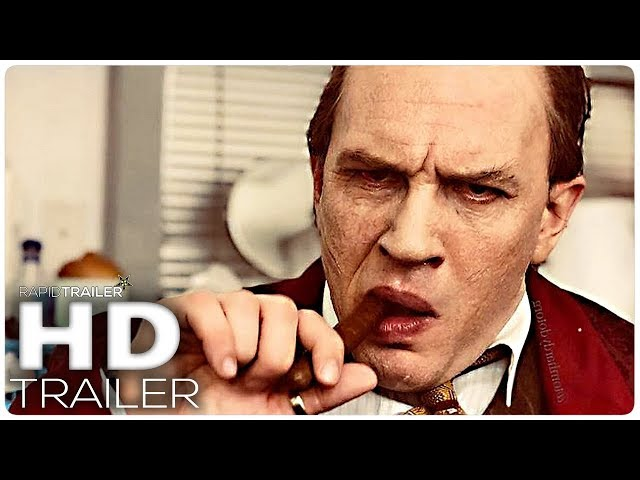 CAPONE Official Trailer (2020) Tom Hardy, Al Capone Movie HD