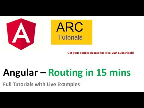 Angular Routing Complete Guide | Angular 8 Tutorial Series thumbnail