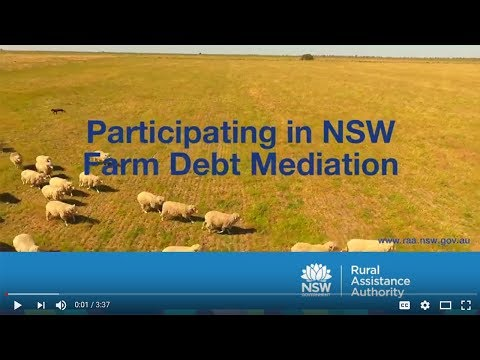 Participating in NSW Farm Debt Mediation
