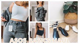 ASOS Basic Essentials TRY-ON Haul