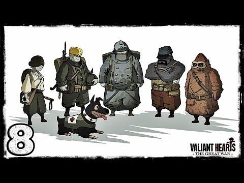 Смотреть прохождение игры [PS4] Valiant Hearts: The Great War. #8: Побег.