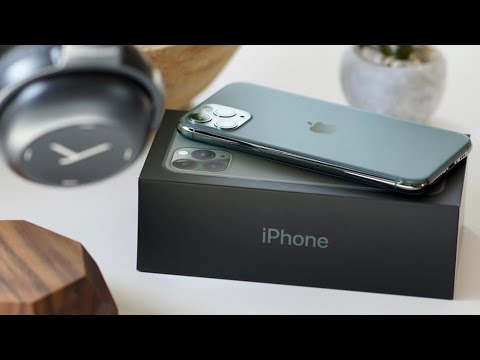 Midnight Green IPhone 11 Pro Max Unboxing
