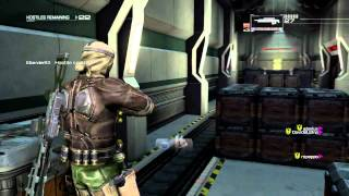 Binary Domain Invasion Mode Stage 3 Underground Tunnel [Rounds 1-50][Part 1]