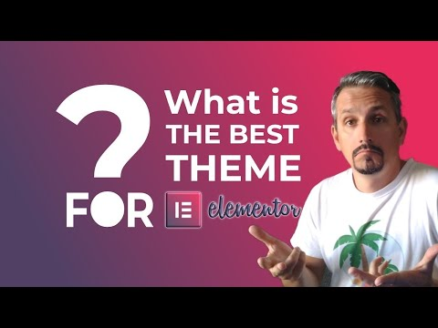 Best Theme for Elementor: WordPress Page Builder Themes 👷