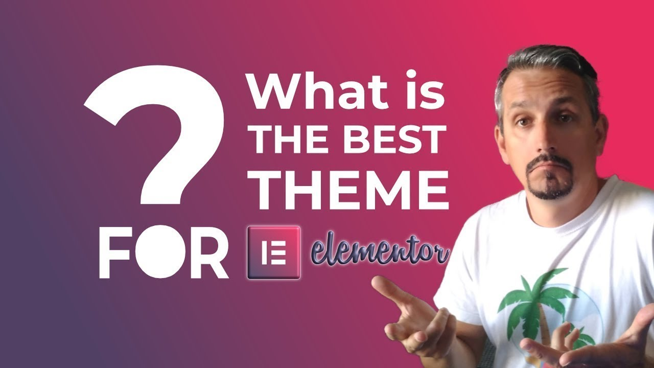 Best Theme for Elementor: WordPress Page Builder Themes 👷 - YouTube