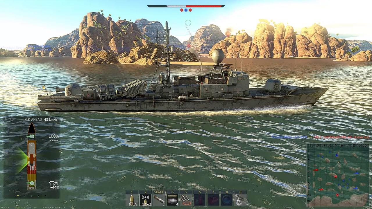 war thunder marine