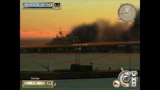 "Battlestations: Midway. Singleplayer mission ""Coup de Grace"" HD"