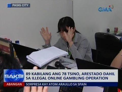 Saksi: 89 kabilang ang 78 Tsino, arestado dahil sa illegal online gambling operation - 동영상
