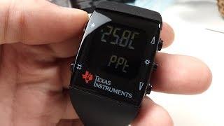TI eZ430 chronos. DevKit - наручные часы