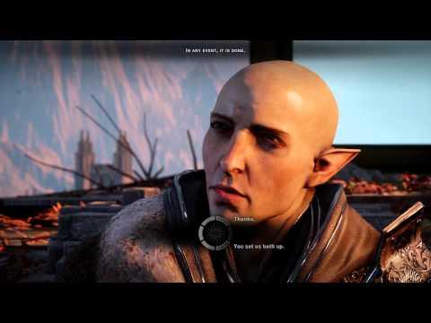 Dragon Age: Inquisition - Trespasser DLC - Solas + Disbanding option  (Blackwall Romance)