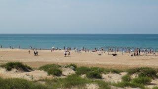Витязево- дикий пляж