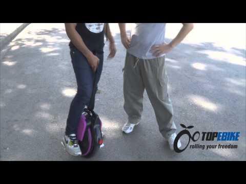 เล่นโซโล่วีลให้เป็นภายใน 1 ชั่วโมง จักรยานไฟฟ้าล้อเดียว self balancing unicycle