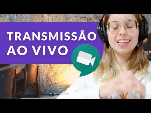 Como Iniciar Stream no Google Meet - Seu evento online com Transmissão ao Vivo (Meet e Chat - Ep 08)
