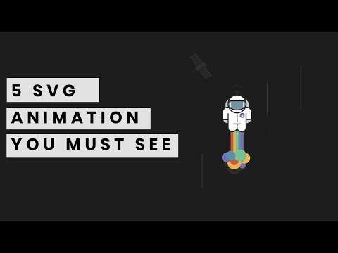 5 SVG Animation You Must See | Web Design Inspiration