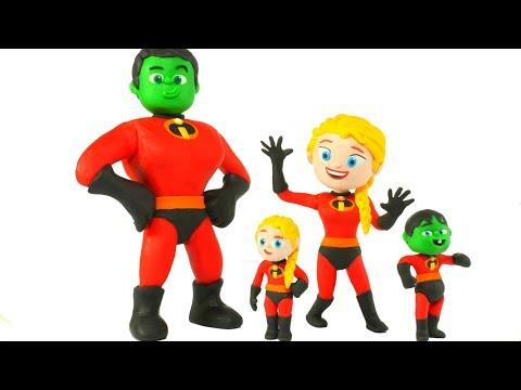 SUPERHERO BABIES DRESS UP AS SUPERHEROES 鉂� Superhero Babies Play Doh Cartoons For Kids