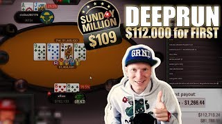 SICK $109 SUNDAY MILLION GRND | Poker Stream Highlights (14.07.2019)