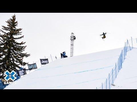 Ferdinand Dahl wins Men's Ski Slopestyle bronze   X Games Aspen 2019
