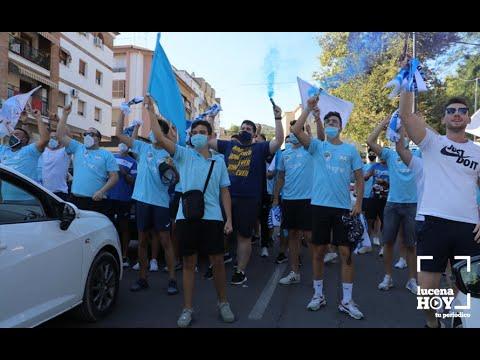 VÍDEO: La Marea Celeste despide al Ciudad de Lucena ante el crucial partido por el ascenso a 2ª B frente al Betis Deportivo