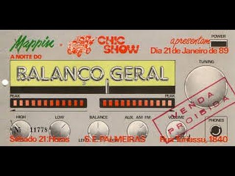 BALANÇO GERAL DA CHIC SHOW NA BAND FM