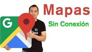 Utilizar Google Maps sin conexión de Internet (iPhone & Android) Free HD Video