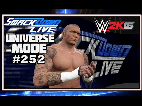 WWE 2K16 UNIVERSE MODE #252| THE VIPER IS READY TO STRIKE!