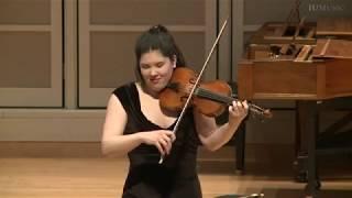 Rachell Ellen Wong, baroque violin - Early Music America's 2019 Emerging Artists Showcase
