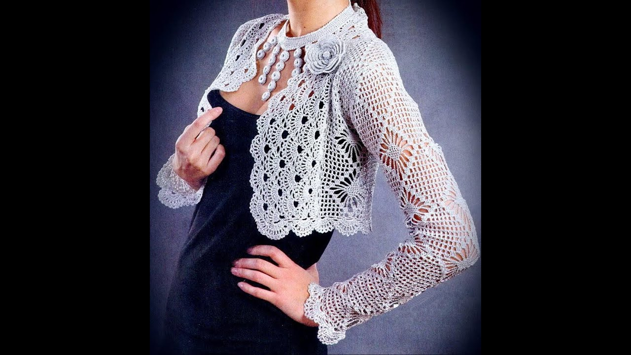 how to crochet vest shrug free pattern tutorial for beginners 2 ...